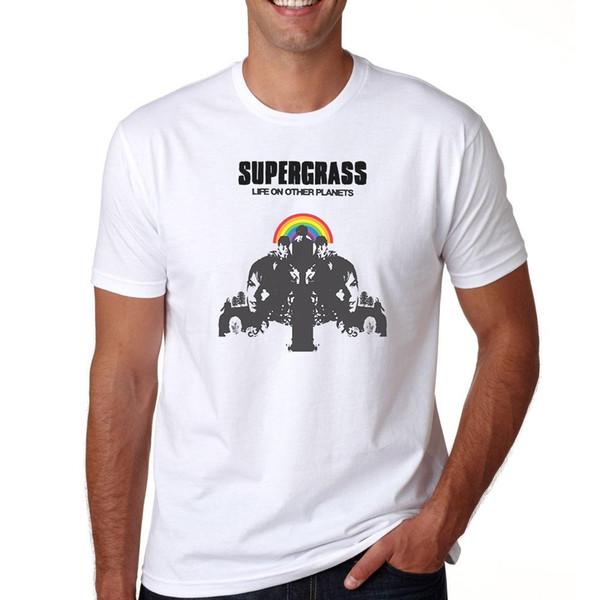 Supergrass Leben auf anderen Planeten Indie-Rockband S M L XL 2XL 3XL T-Shirt Abschlag