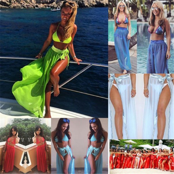 Sexy Knitted Beach Cover up Saida de Praia Swim suit cover up Beach Tunic for Women Crochet Bikini Dress