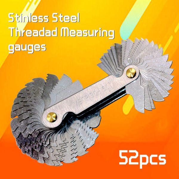 Stainless Steel Thread Plug Gage Metric Screw Pitch Gauge Measuring Tools