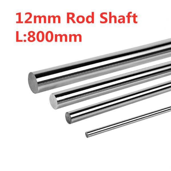 4Pcs Diameter Shaft 800 mm Diameter 12 mm 3d Printer Accessories - Hardened Linear Rod Round Shaft Chrome Rod Sha