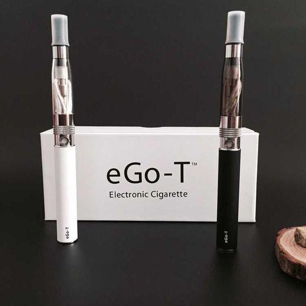 Ego-t battery double vape pen starter kit e cigarette CE4 atomizer 650mah 900mah 1100mah battery ego t ce4 mod box e liquid vaporizer