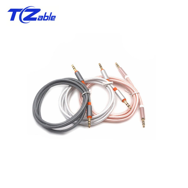3.5MM Jack Auxiliary Audio Cable Male To Male Stereo Auxiliary Line For Mobile Phone Audio Speaker Car Cable Computer HDTV AUX Car