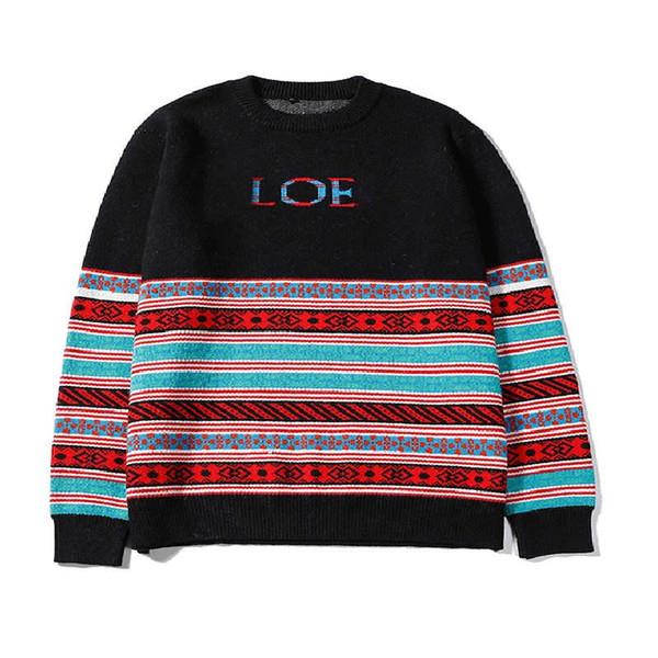 Мужской свитер ручной вязки из хлопка теплая мужская мужская женская дизайнерская кофта джемпер свитер класса люкс Хорошее качество M-XXL