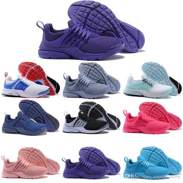 Cojín Presto Ultra BR QS Zapatillas de running Hombre Mujer Diseñador Zapatillas de deporte casuales Entrenador Zapatillas de deporte para correr Tamaño 36-45