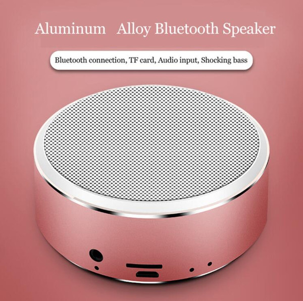 Portable A8 Bluetooth Speaker Support TF Cards Aux Stereo Wireless Sound Box Speaker Loudspeaker Game Mini Boombox For PC Smartphone