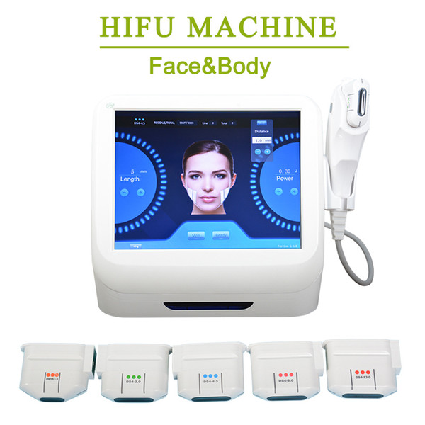 Hifu de alta intensidad con ultrasonido enfocado contra el envejecimiento eliminación de arrugas hifu máquina de lifting facial hifu Forma de cuerpo máquina uso en el hogar