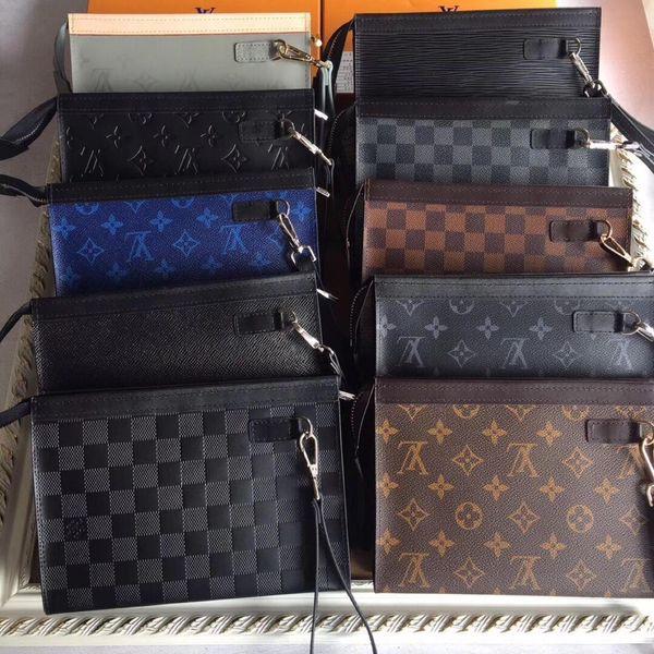 2019 novo designer de bolsa de luxo carteira de moda dos homens design clássico casual titular do cartão de crédito de alta qualidade ultra-fino carteira saco manle