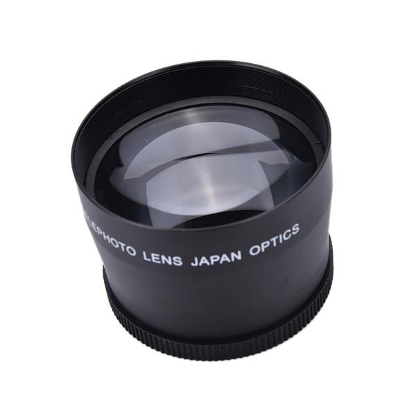 58mm2.0X Teleobjetivo Profesional + Paño de limpieza para Canon Nikon Sony Pentax