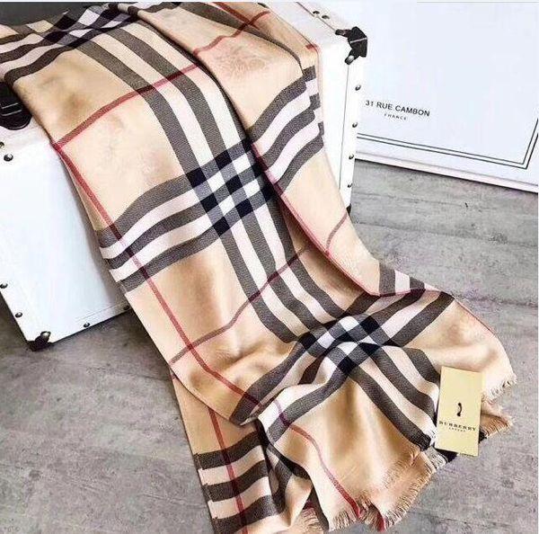 Top designer silk scarf brand scarf ladies soft super long luxury scarf shawl spring fashion printed scarves