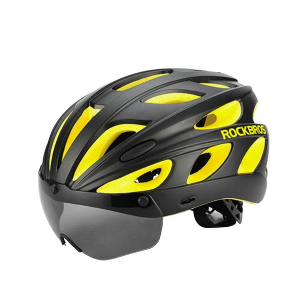 Portable Lightweight Specialized Mountain Cycling Helmet Road Bike Helmet With Goggle For Men Women