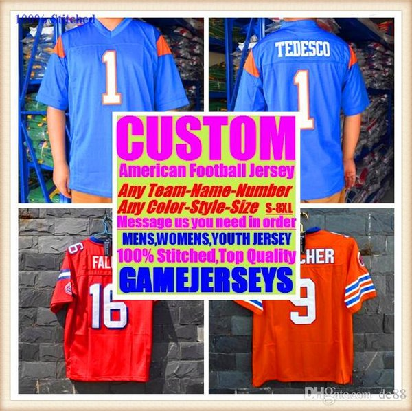 Custom american football jerseys Houston New York college authentic retro rugby soccer baseball basketball hockey jersey 4xl 7xl 8xl france