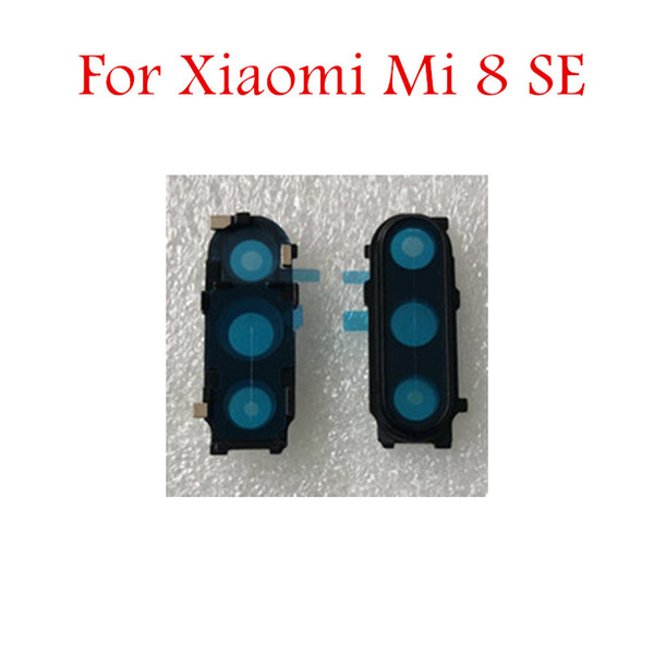 for Xiaomi Mi 8 SE Back Camera Glass Lens with Frame Main Rear Camera Lens with Frame for Xiaomi Mi 8 SE Repair Spare Parts