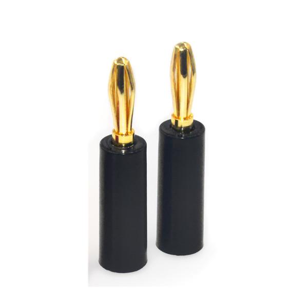 Straight Plug Black
