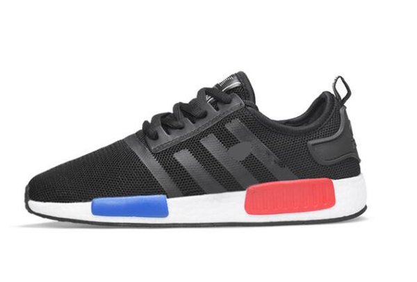 buy online 3f0c3 b9258 2019 2019 NMD R1 Primeknit Japan Triple Black White Red OG Pink Men Women  Outdoor Shoes Runner Breathable Sports Shoe Trainer Fashion Sneakers 04  From ...