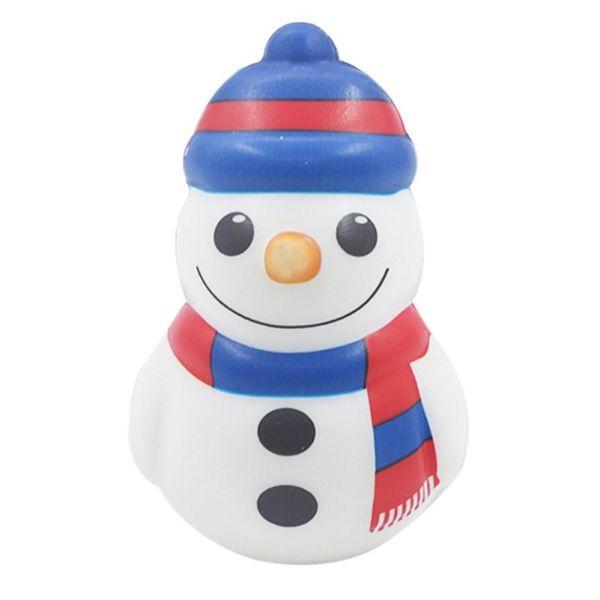 Protección del Medio Ambiente Festival de Navidad muñeco de nieve decoración de simulación no tóxico muñeca de juguete de la PU