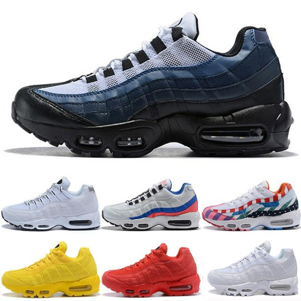 Drop Shipping Wholesale Running Shoes Men Cushion 95 OG Sneakers Boots Authentic 95s New Walking Discount Sports Shoes Size 40-46