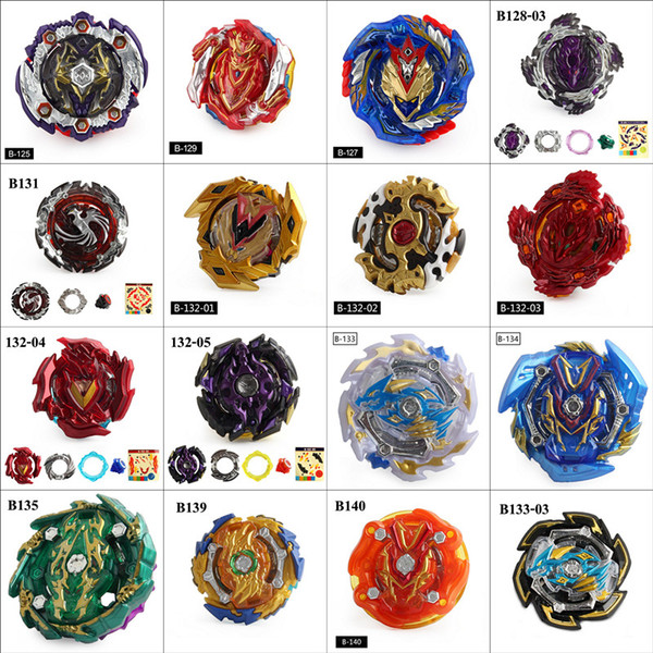 top popular 64 Colors 4D Beyblade Burst Toys DIY Arena Beyblades Metal Fighting Explosive Gyroscope Fusion God Spinning Top Bey Blade Blades 2020