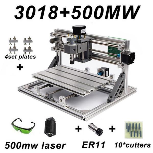 Mini máquina de grabado del CNC con la talla de madera ER11 Router Grinder PCB fresadora CNC de madera de PVC DIY de Windows