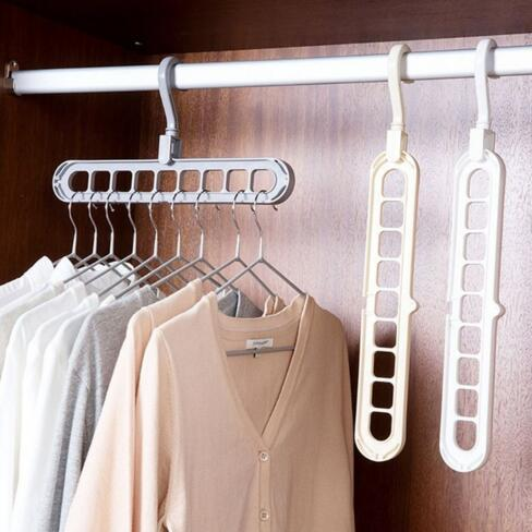 Satin Al Fabrika Dogrudan Fiyat Moda 9 Delik Elbise Askisi Plastik Depolama Raf Dolap Giyim Organizator Ceket Kanca 1 46 Dhgate Com Da