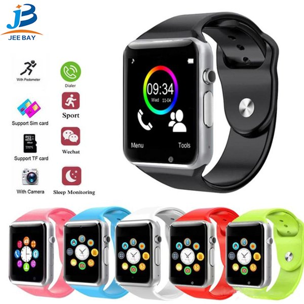 A1 Bluetooth Smart Watch Step Counting Sport Tool Remote Camera and Sync Function for Android Mobile Phone