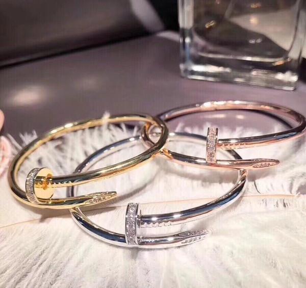 Bracelets de créateurs de luxe de bijoux de créateur bracelets de créateur amour bracelet hommes bracelets c a r # B6048617 2019 accessoires de luxe de mode