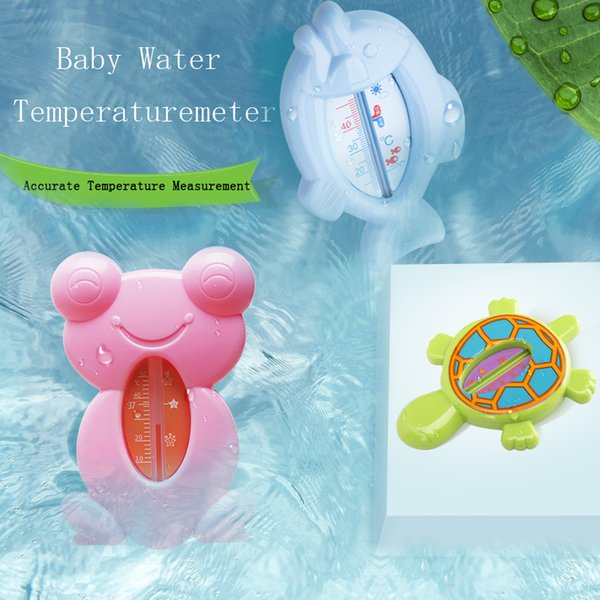 2019 Cute Animal Baby Digital Water Shower Temperature Meter Thermometer Toy Tester Infant Bath Tub Factory Direct Sales Free Shipping