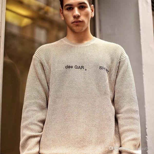 18FW BOX LOGO X des Baumwollpullover Hip Hop Skateboard Coole Pullover Männer Frauen Baumwolle Freizeitmantel HFLSMY039