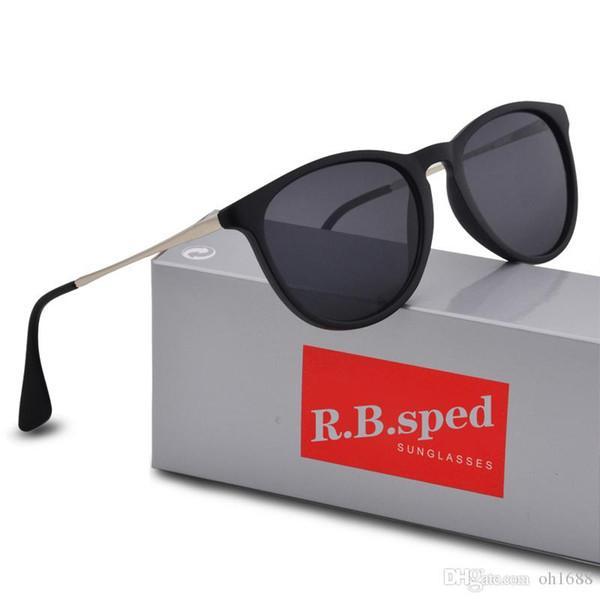Высокое качество луча Модные солнцезащитные очки Мужчины Женщины Марка Дизайнер солнцезащитные очки Gradient объектива UV400 очки с бесплатными Brown Случаи и коробки