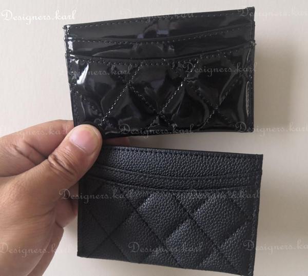 Verkauf! 2019 Dame Kupplung Billfoldmappe Kredit-ID-Kartenhalter Thin Purse Bank Card Package-Münzen-Beutel-Beutel-Geschäftsfrauen ID-Kartentasche VIP-Geschenk