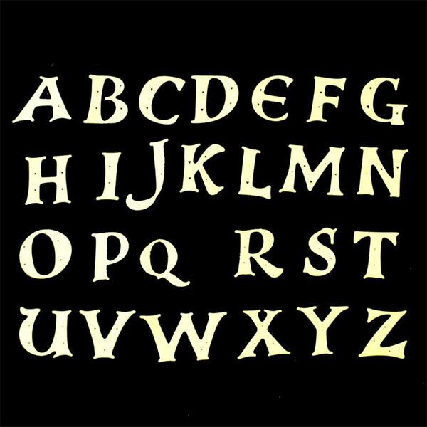 Großhandel 26 teile / satz Alphabet Buchstaben Metall Stanzformen Sammelalbum Papier Handwerk Dekoration stirbt scrapbooking
