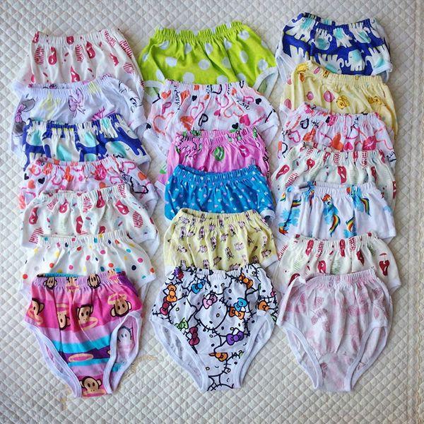 Cão dos desenhos animados do carro coração brid crianças shorts criança calcinha bebê Potty Formação calças de algodão puro tronco meninas pugilistas crianças triângulo cueca