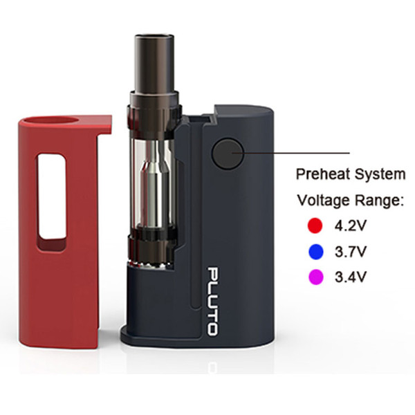 Ubox pluto Ecig Vape E Pen Cigarettes Kit Electronic Vapor Kit Smoke 500mah Battery with Retail Box