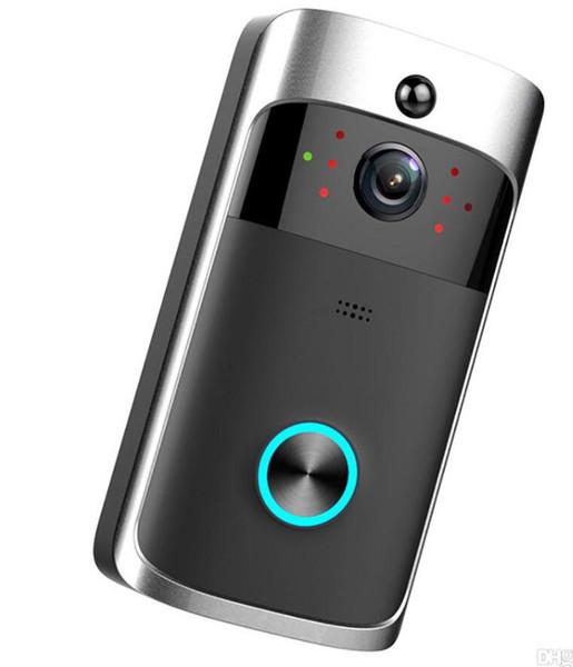 2019-HD 720 P WiFi Video Türklingel Kamera IR Nachtsicht Zwei-Wege-Audio Batteriebetrieb Türsprechanlage Intercom