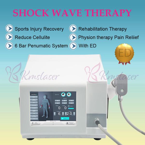 Eerectile disfonksiyonu için taşınabilir akustik radyal şok dalga tedavisi / vücut zayıflama için Sıcak satış shockwave makinesi
