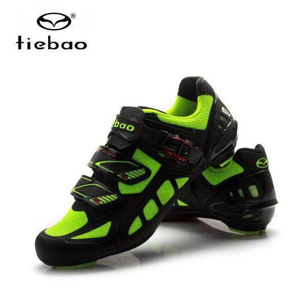 Tiebao yol bisiklet ayakkabı zapatillas deportivas mujer bisiklet atletik yarış spor shoes bisiklet profesyonel öz-kilitleme