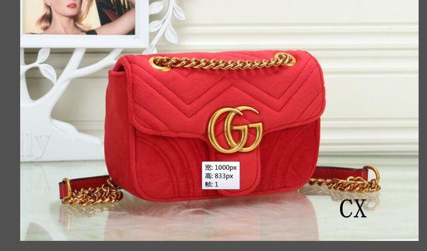 Top Quality Famosa marca mulheres designer de bolsa de Ombro saco de cadeia de couro Cruz corpo Pure color womens handbag crossbody bag purs 02