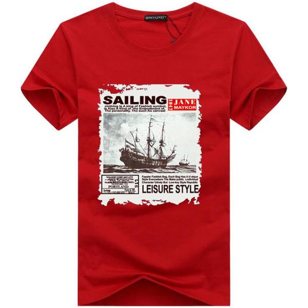 Хлопковая футболка с коротким рукавом Повседневная O Шея Мужская футболка Черная летняя мягкая футболка высокого качества Мужские топы Футболка BY8