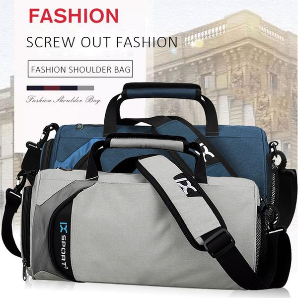 Erkekler Kadınlar için 4 Renk Seyahat Çantası Bez Açık Çanta Bagaj Duffle Spor Bavul Sırt Çantası için