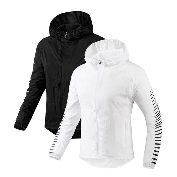 Automne Printemps Designer Mode Vestes Noir Blanc Manteaux Slim Fit Veste À Manches Longues Plus La Taille S-2XL