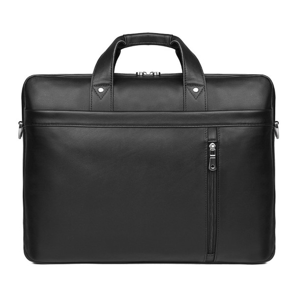 2019 New Men's Cow Leather Briefcase Laptop Vintage Genuine Leather Handbag Business Bag For Man Work Tote Travel Bag