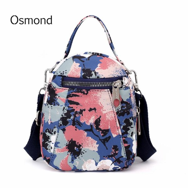 Osmond Mini Crossbody Bags For Women 2019 Flower Printed Shoulder Messenger Bag Lady Travel Purses Phone Handbags Cross Body Bag