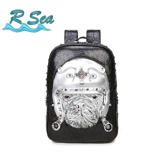 Ziper Backapck Cute Pig Diamond Backpack 2018 New Wave Backpack Casual Korean Computer bag Free Shipping