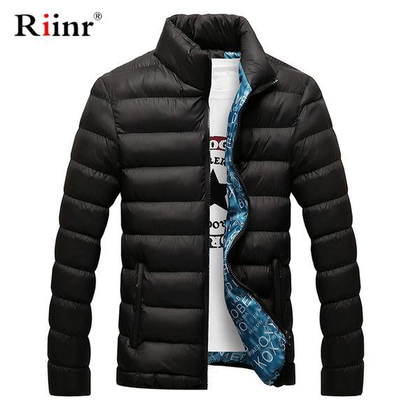 2019 New Brand Clothing Men's Casual Parkas Long Style Loose Fit Hooded Jacker Parkas For Older Fleece Winter Jacket Men Padded