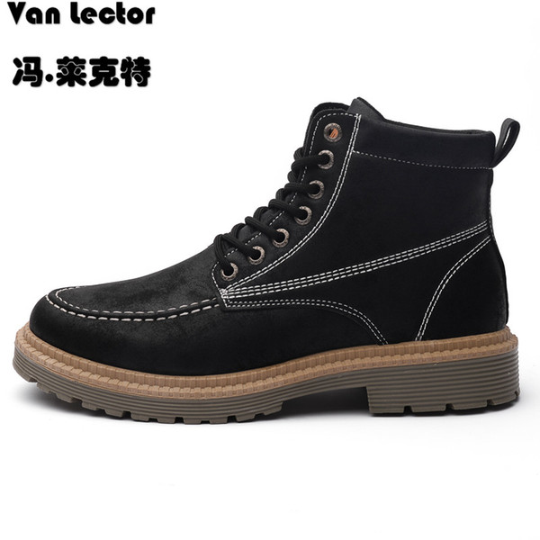 Men Shoes Tactical Boots British Style Leather Special Desert Ankle Combat  Boots Men Leather Army Footwear Botas Mens Leather Boots Grey Boots From