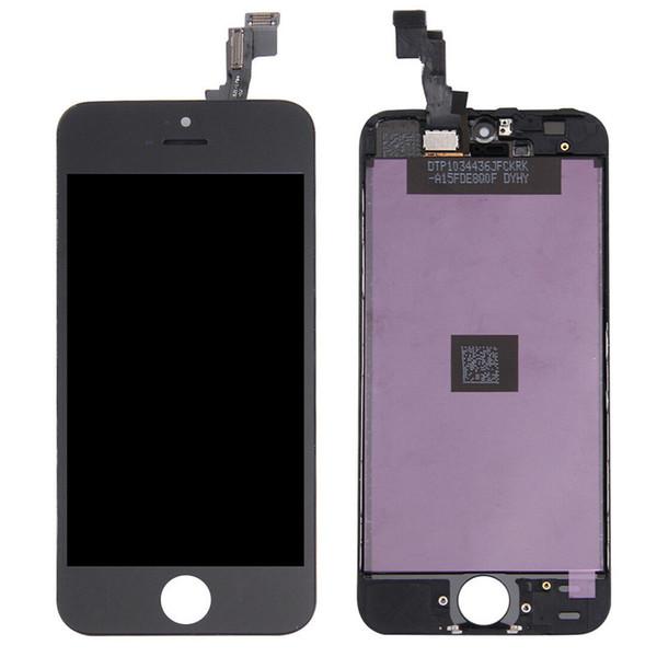 AMOLED LCD Para iPhone 5S Display LCD com tela de toque digitador módulo de substituição do telefone de reparo lcd monitor de digitador de vidro