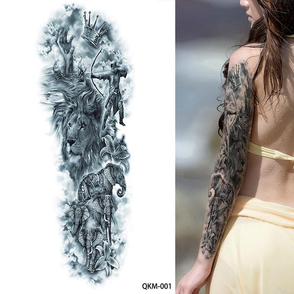 Tatuagens De Fenix 1 Folha Grande Grande Zeus Mitologia Grega Antiga Tatuagens Temporárias Braço Completo Perna Da Arte Da Cintura Tatuagem Beleza