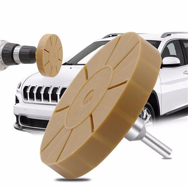 best selling 3.5'' Rubber Eraser Wheel Pin Stripe Decal Car Sticker Caramel Pneumatic Removal Rubber Eraser Wheel 30NOV18