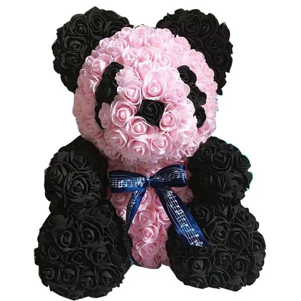 Romantic Artificial Foam Rose Flower Dog Wedding Party Valentine Day Gift Decor