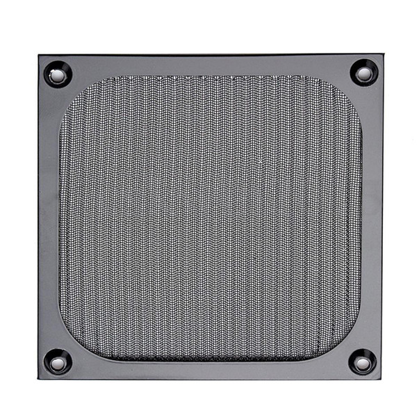 FREE SHIPPING 120x120mm Computer Mesh Black Stainless Steel PC Case Fan Cooler Dust Filter Dustproof Case Cover Multi-Functional