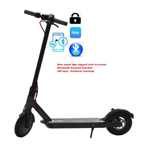 "top popular SUPERTEFF EW6 new generation kugooPro App electric scooter 8.5"" e-scooter lock function color LCD display scooter loading 120kg 2020"